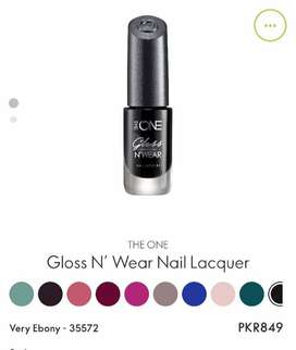Gluss N wear Nil Lacquer more item Available