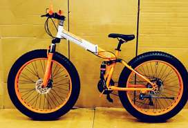 Bmw fat folding cycle with 21 speed shimano gears