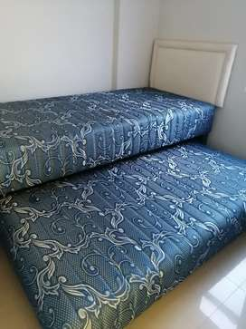Kasur springbed single 2in1 guhdo sorong 90x200 central (baca iklan !)