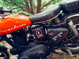 Bullet 2000 model  good condition .only rc available
