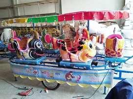 05 singa genjot pony kereta panggung ikan nemo