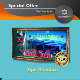 Dapatkan Jam Digital Masjid Tipe Advanced Eksklusif abs`