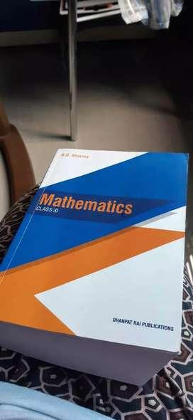 Mathematics book.