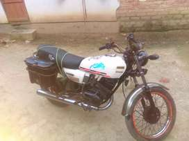 Very nice bike but old rs 100