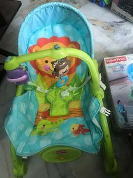 Fisher price brand portable rocker for infant to toddler