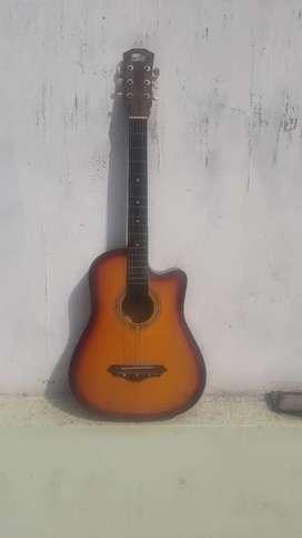 Accaustic hollow body guitar