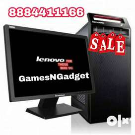 Festive Sale offer for PC with Monitor Keyboard Mouse At best price