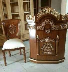 masjid masjid dan kursi