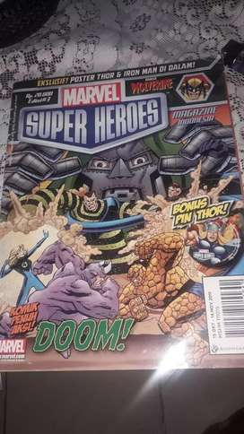 Komik marvel super heroes ediai 15 oktober-14 november 2011