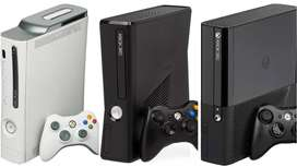 XBOX 360 SLIM 320 GB WITH 80 GAME AND ONE MONTH WARRANTY