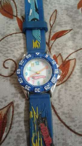 Hot wheels kids watch