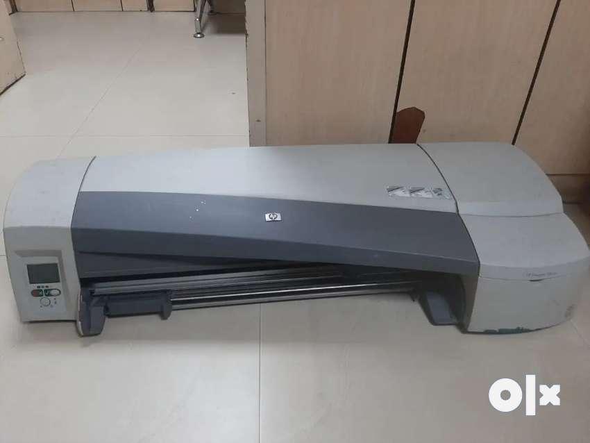 Hp Plotter 110 plus Hp Printer