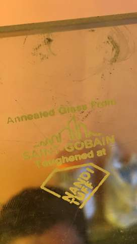 Saint gobain toughened glass