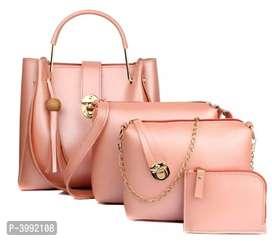 Elegant Combos Of PU Women Bags