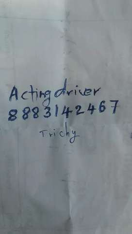 Acting driver