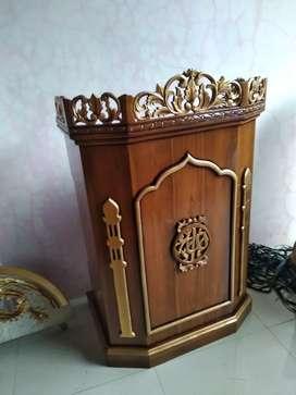 Podium pondok mimbar masjid