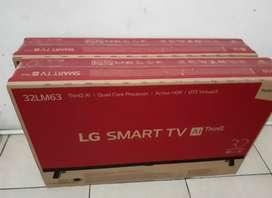 LG smart tv 32inc baru garansi biza di tukar tambah