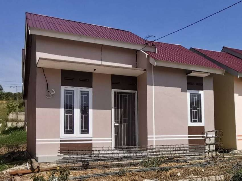 Rumah sederhana tipe 36 dan tanah mulai dari 72. 0