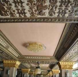 UPVC Plafon untuk atap Ruangan, Restoran, Villa dan Hotel