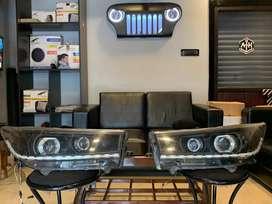 Innova crysta aftermarket headlights