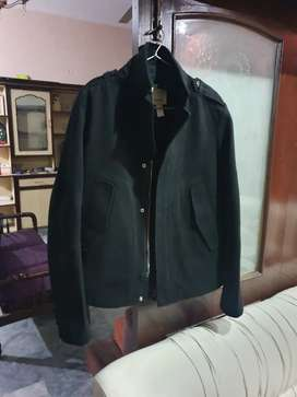 Diesel (Made in Italy) Peacot / Leather Jacket for men Large Size