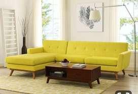 Brand new L shape corner sofa set with 5 years of warranty