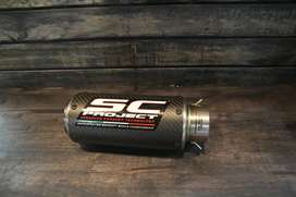 Sc project carbon fiber exhaust for all bikes