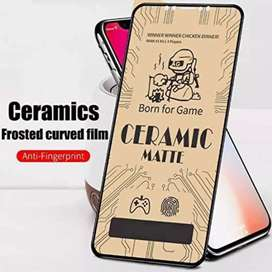 9D Ceramic Matte Sheet Glass Protector (All Over Pakistan)
