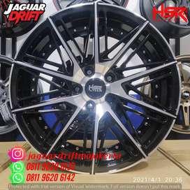 Pelek Hsr R18 Lebar 8 Pcd 5x114,3 Et45 Bmf -Honda Crv,Hrv,Civic Type-R