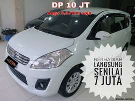 Suzuki Ertiga DP 10 Jutaan Aja Murah GX MT 2014 Putih Tgn1 dr Baru