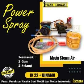 Power Spray / Jet Spray / Mesin Cuci Steam Listrik - IKAME Berkualitas