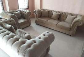 Sofa ruang tamu kancing seribu 321 mewah
