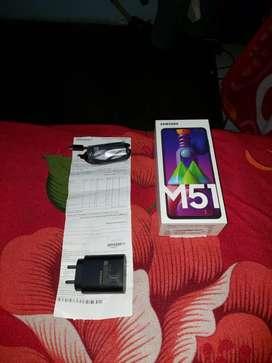 Samsung m51 6/128 SD 730G