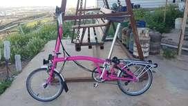 Sepeda Lipat Brompton M6L 2012