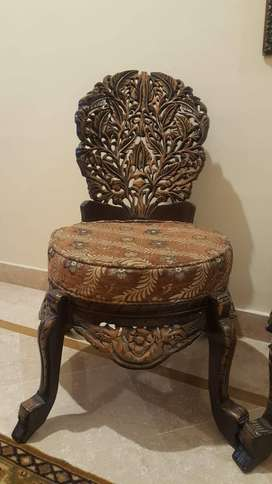 Two antique  style chairs