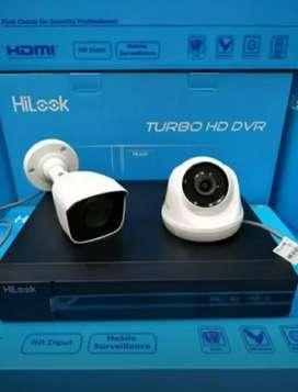 Ready paket hemat cctv berkualitas Hikvision 2mp 2ch