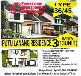 Rumah Jakarta DP unit 20jt Tanpa Bunga