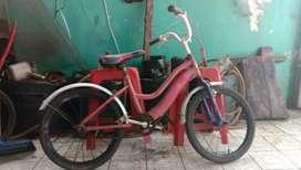 Sepeda seken ukuran 18