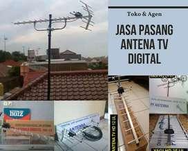 Teknisi Jasa Pasang Baru Antena Tv Digital
