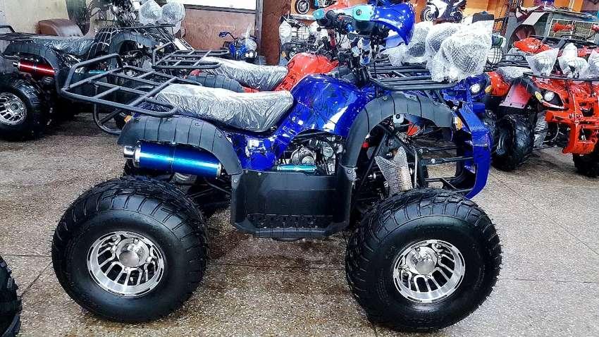 Big size 150 cc disabled person Quad ATV BIKE ZERO-METER  for sell 0