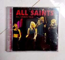 "CD ori segel album ALL SAINTS ""ALL SAINTS TALK"".  Kondisi NOS"