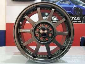 Velg Mobil Racing Tipe HSR GYMKANA Ring15X65 (Yaris Sigra Ayla Dll)