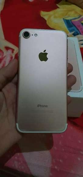Iphone 7 32 gransi resmi inrer warna ros gold
