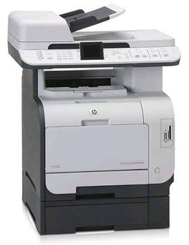 Hp CM2320 Color Laser-Jet  All In One Connectivity With Mobile