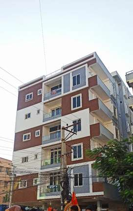 3 BHK with French window and roadside view for rent