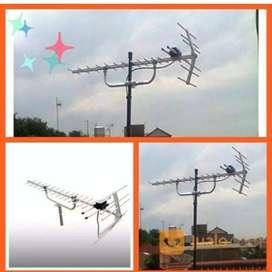 Antena TV pasang sinyal digital siaran nasional
