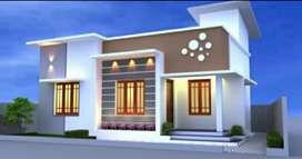 New villa in mukkattukara 37 lakh