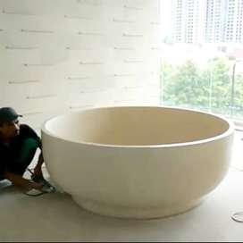 Bathup Terrazzo - Model Lingkaran - Bathup Traditional
