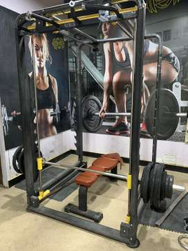 All gym equipments