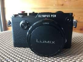 OLYMPUS PEN-F with Lensa LUMIX 20mm f/1.8